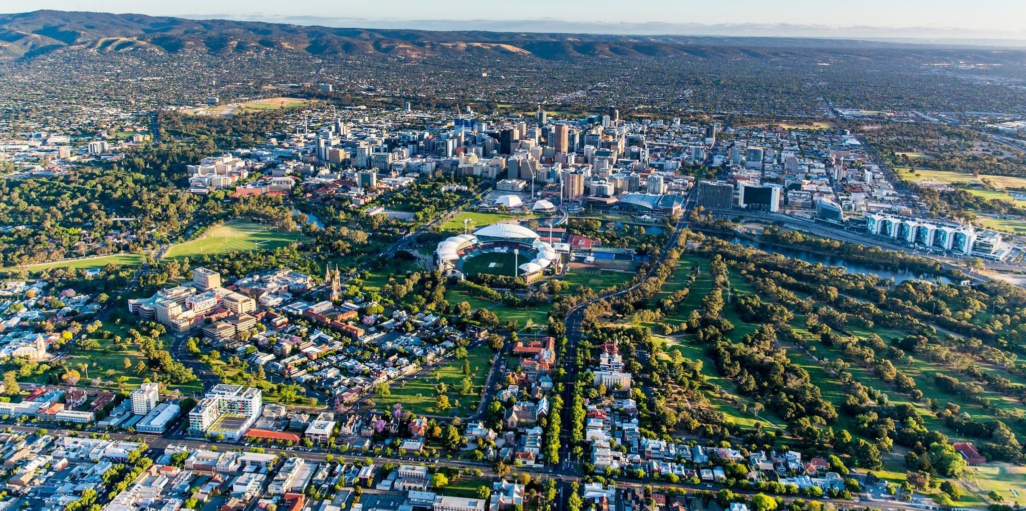 Adelaide Cityアデレードのシティ