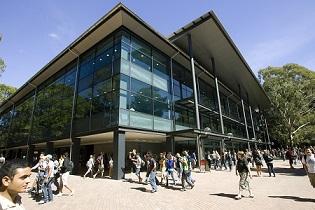ウーロンゴン大学キャンパス