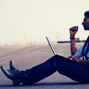 working man abroad